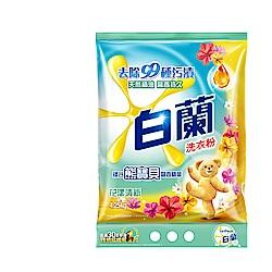 白蘭 含熊寶貝馨香精華花漾清新洗衣粉4.25kg