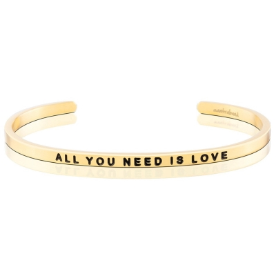 MANTRABAND All You Need Is Love 金色 只要有愛就可以
