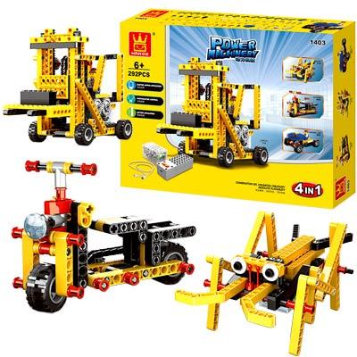 《Power Machinery二代》動力機械組裝科普DIY工程套組292PCS