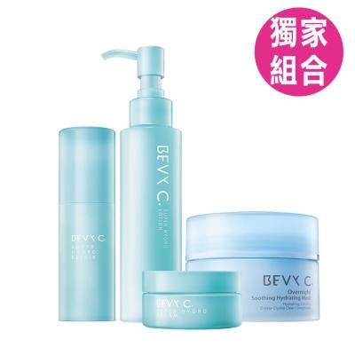 BEVY-C-親潤乳木晚安水潤極致修護組