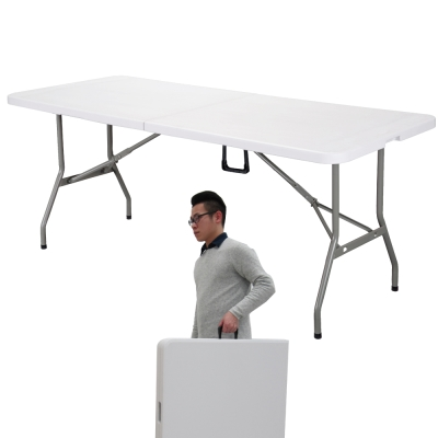 UMO 多用途折合萬用桌 桌面可對折 攜帶方便 (180*74*74公分)
