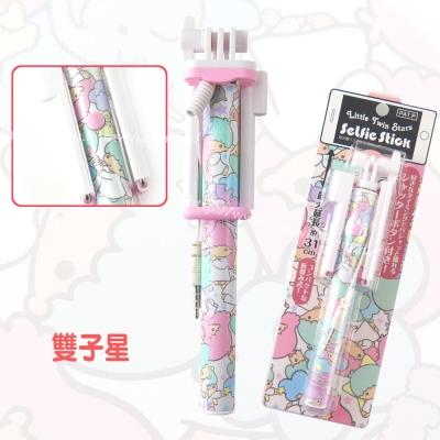 Hamee日本Sanrio三麗鷗Mini輕巧迷你 自拍棒-雙子星