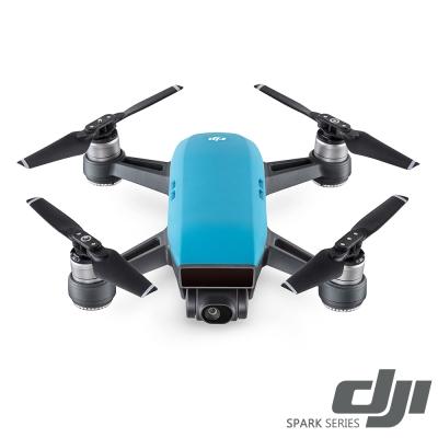 DJI Spark 空拍機全能套裝-晴空藍