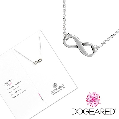Dogeared 許願銀項鍊 愛無限 Infinite Love Necklace附原廠盒