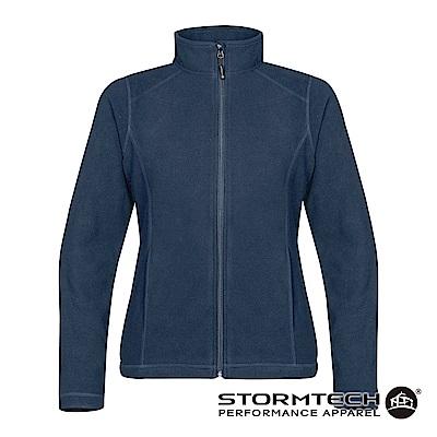【加拿大STORMTECH】VFJ-2W超纖細刷毛保暖外套-女-深藍