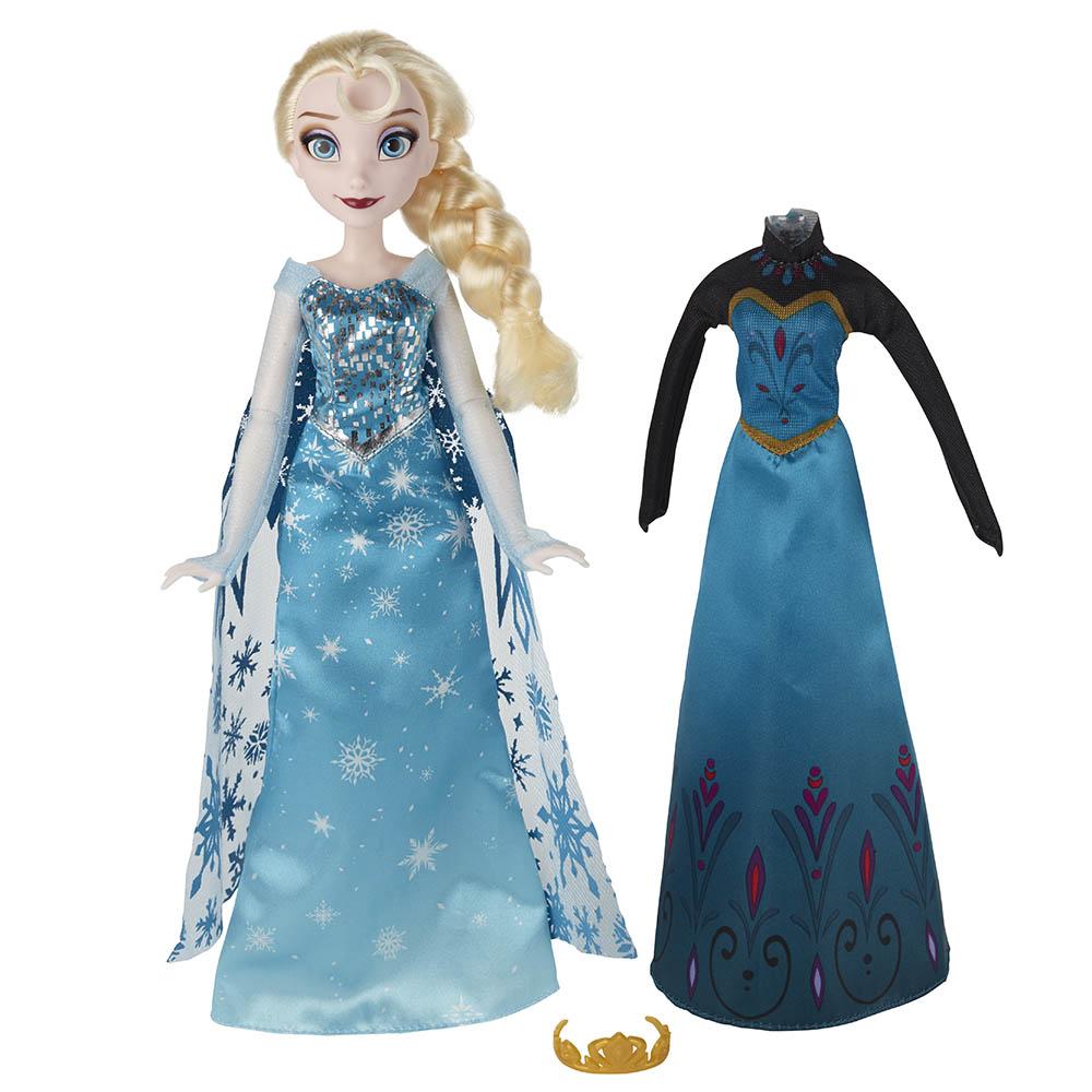 孩之寶Hasbro Disney迪士尼 冰雪奇緣公主換裝組 艾莎