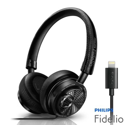 PHILIPS 飛利浦Fidelio系列Lightning耳罩式耳機M2L