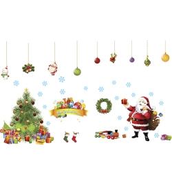Pond's 無痕壁貼 聖誕樹+耶誕老人 AM9080AB 超大尺寸60x90