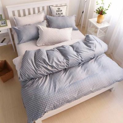 Ania Casa 台灣製 永恆 美肌磨毛 單人床包枕套二件組