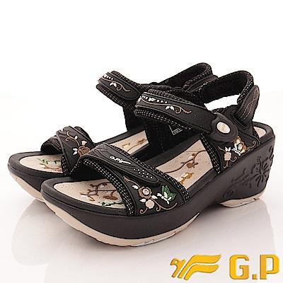 GP時尚涼拖-兩穿式磁扣涼鞋款-EI698W-72杏(女段)