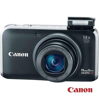 Canon PowerShot SX210 IS 黑色 福利品