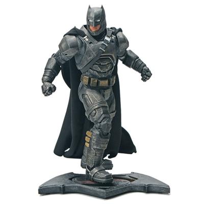 蝙蝠俠對超人 正義曙光 12.5吋 重裝蝙蝠俠 布魯斯偉恩 雕像
