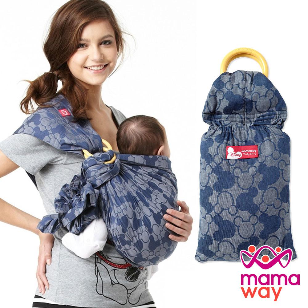 Mamaway 米奇萬花筒育兒揹巾(藍色)