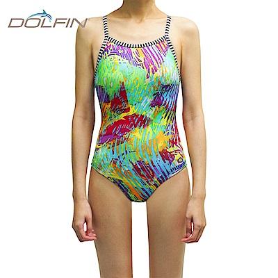 美國DOLFIN 女性運動連身泳裝 Fantasia