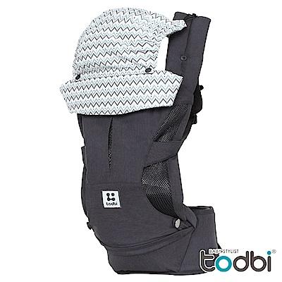 TODBI Hidden360氣囊腰凳式揹巾-三色可選