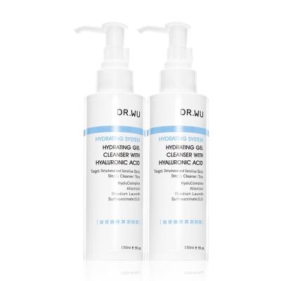 (買一送一)DR.WU玻尿酸保濕潔顏露150ML