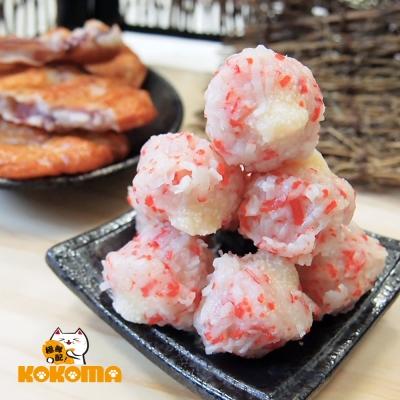 極鮮配888任選 日本進口-柳葉魚蛋蝦球(150±10%/包)-1包