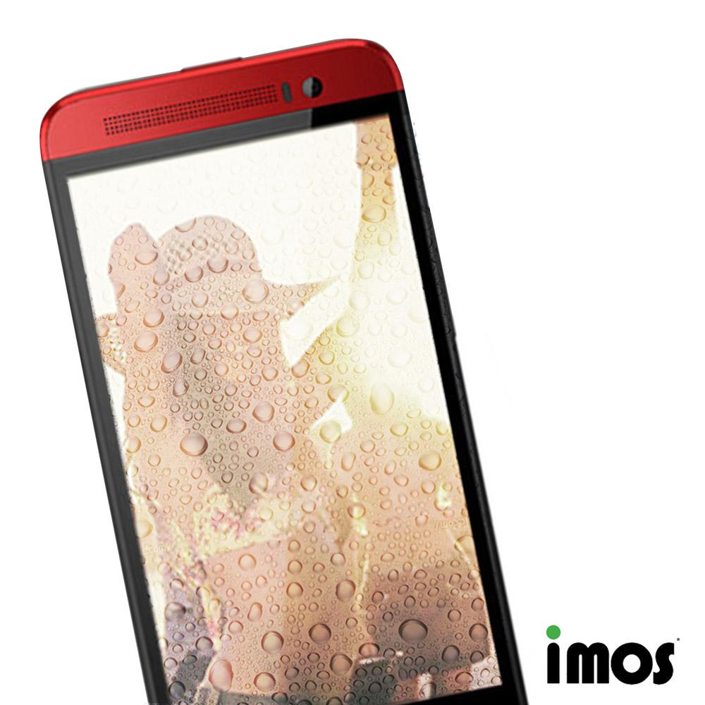 iMos  HTC ONE E8 超抗潑水疏油效果保護貼