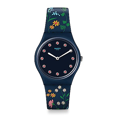 Swatch 英倫風情 FLOWER CARPET 花朵地毯手錶