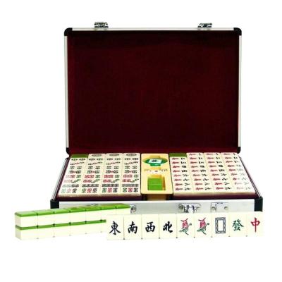 《凡太奇》【金潮派】歡喜年年加大加重竹紋磁性麻將-33mm