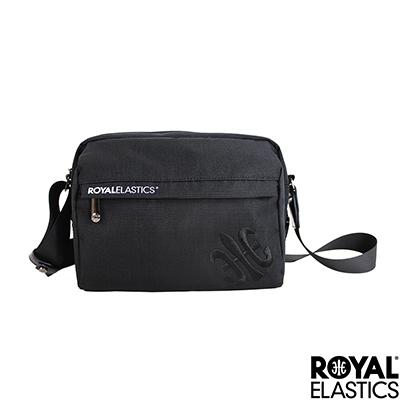 RoyalElastics - 休閒側背包 - Festival山林搖滾系列 - 沉黑