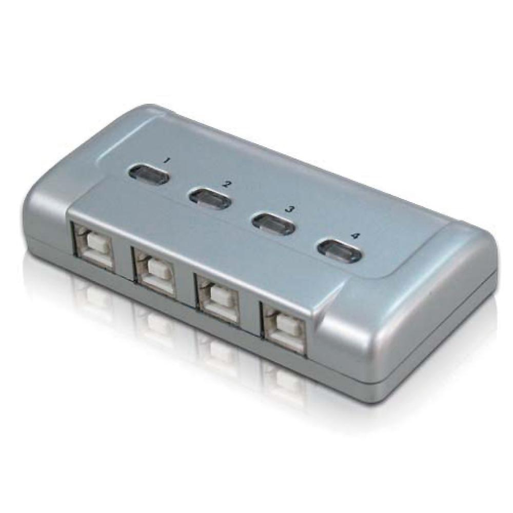 NuSwitch SW-241B 4Port USB 訊號切換器