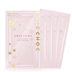 CHIC CHOC 櫻花水潤面膜(5片/盒)