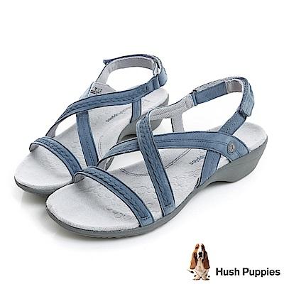 Hush Puppies THEIA 機能健走涼鞋-藍色