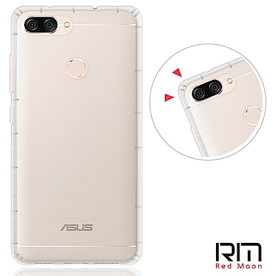 RedMoon ZenFone Max Plus/ZB570TL 防摔透明TPU...