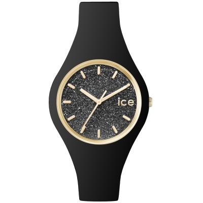 Ice-Watch 璀璨系列 光彩晶鑽手錶 S - 黑/38mm