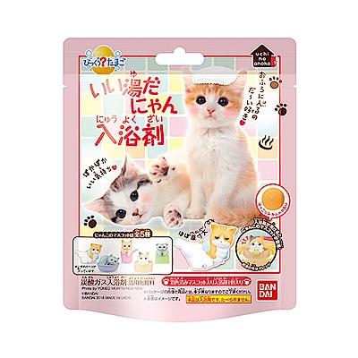 日本Bandai-溫泉貓入浴球Ⅱ-1入