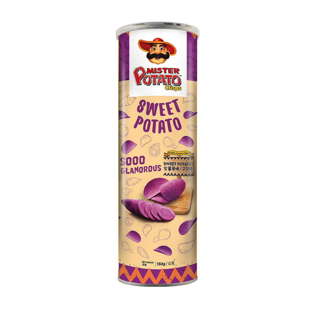 MisterPotato 薯片先生-紫薯原味(130g)
