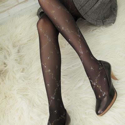 蒂巴蕾BLING型彈性絲襪 star