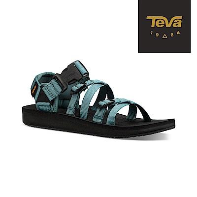 TEVA 美國 男 Alp Premier 機能運動涼鞋 大西洋藍