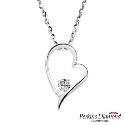 PERKINS 伯金仕 - Heart系列 14K金鑽石項鍊