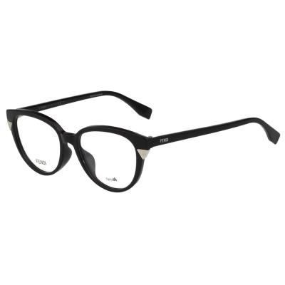 FENDI 小貓眼 光學眼鏡 (黑色)FF0141F