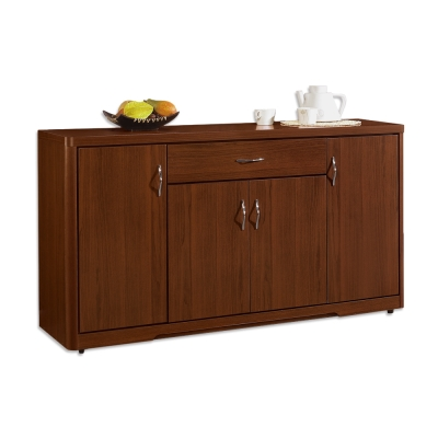 Bernice-衛斯理5.1尺碗盤收納餐櫃-152x46x84cm