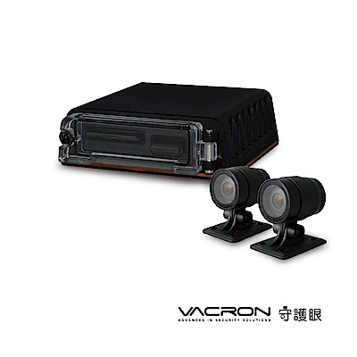 凱騰VACRON守護眼VVG-MDE08B 2路HD機車行車記錄器