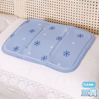 三貴SANKI 冰涼枕/座墊薰衣草風(30x40cm)