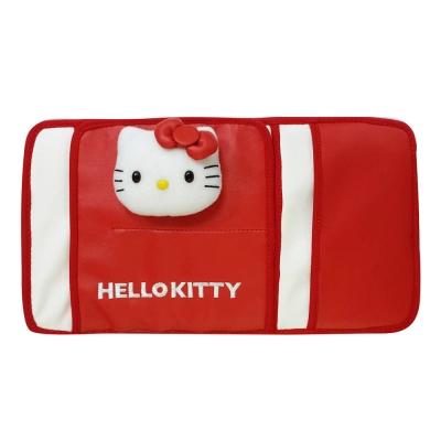 HELLO KITTY 經典皮革系列-遮陽板多功能套夾