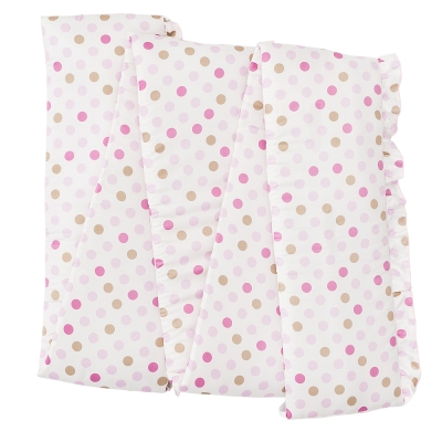 奇哥 花園比得兔護床圍-粉紅