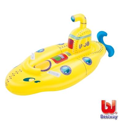 《凡太奇》Bestway。兒童充氣潛水艇造型坐騎
