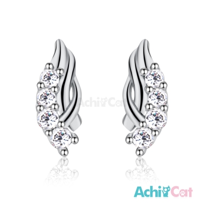 AchiCat 925純銀耳環 璀璨浪漫 純銀耳針