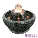 鹽燈能量館-石來運轉6cm雷射滾球流水組