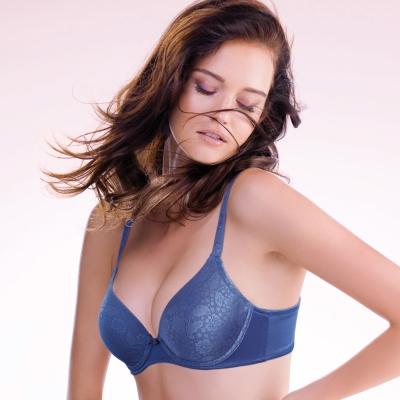 黛安芬-超彈力魔術胸罩A-C罩杯內衣(丁香紫)