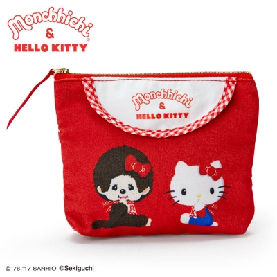 Sanrio HELLO KITTY,夢奇奇MONCHHICHI系列面紙化妝包 @ Y!購物