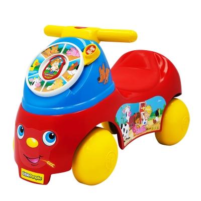 費雪 little people-歡樂農場騎乘玩具(1-3Y)