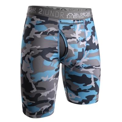 2UNDR Gear Shift 極限運動快乾內褲(9吋)-淺藍迷彩
