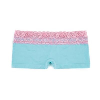 超低腰無痕平口褲-璀璨藍 (M~XL)