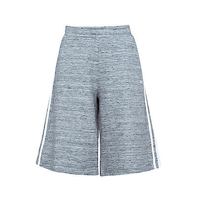 FILA 女寬鬆五分褲-深麻灰 5PNS-1439-RG